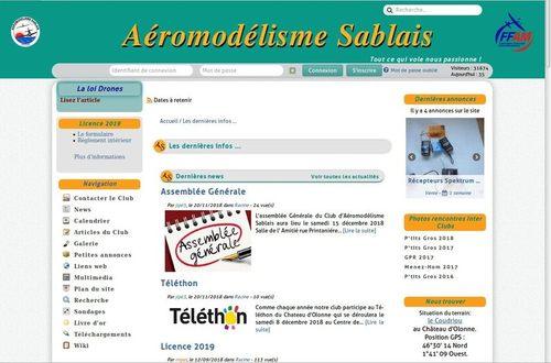 Aéromodélisme Sablais