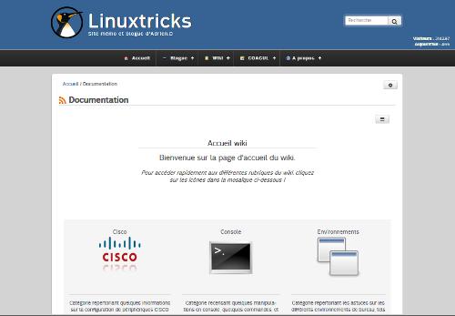 Linuxtricks : Site perso d'Adrien.D