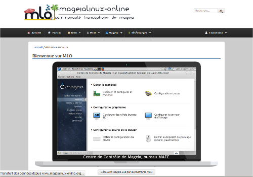 Mageia Linux Online : Communauté francophone de Mageia